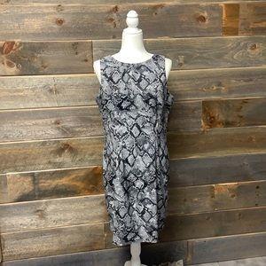 Alyx Limited Snakeskin Sleeveless Dress Size 16